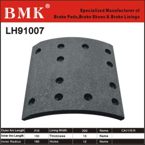 Advanced Quality Brake Linings (LH91007) pictures & photos