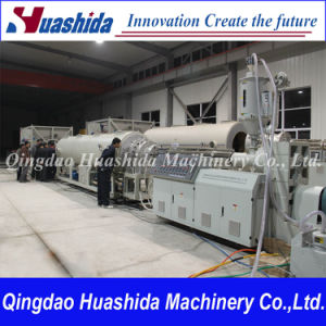 Plastic Machinery PE Pipe Extrusion Line pictures & photos