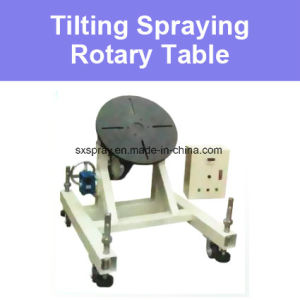 China Tilting Rotary Rotating Work Table For Thermal Spraying - Rotating work table
