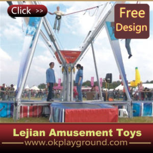 Hot Style Amusement Park Mobile Bungee Trampoline (12175D) pictures & photos