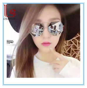 Wholesale Fashion Accessories Polygon Color Film Metal Sunglasses pictures & photos