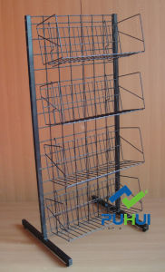 Metal Wire Floor Retail Display Stand (pH12-385) pictures & photos