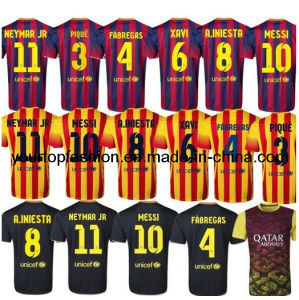 52e3d60e45b Barca Soccer Jersey Thailand Quality Messi Jersey Neymar a Iniesta Xavi  Fabregas Barcelona City Popular Camisetas