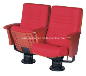 Theatrical Leather Theater Room Concert Music Hall Chair (3002)