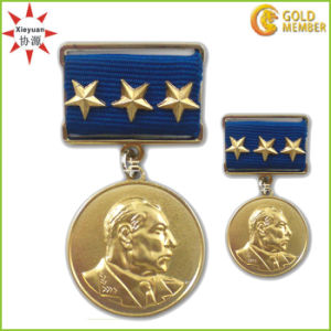 High Quality Copper Officer Military Medal pictures & photos