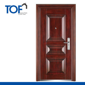 China Exterior Steel Security Door Prices in Egypt China Steel