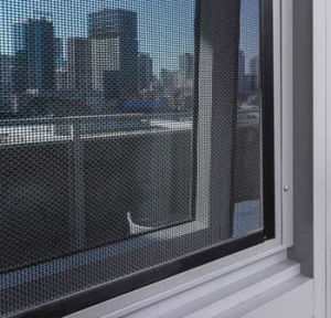 Aluminium Sliding Window with Security Mesh pictures & photos
