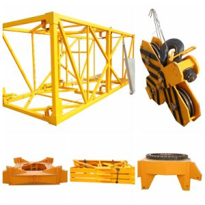 Hoisting Mechanism of Topkit Tower Crane Used in Construction Site pictures & photos
