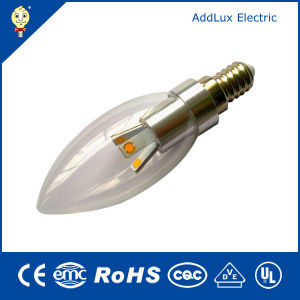 3W E14 Clear Cover SMD LED Candle Bulb pictures & photos