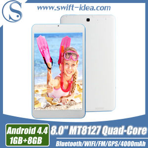 Functional 8 Inch Mtk8382 Quad Core Phone Call Tablet (PMQ835S)