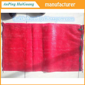 25kg 30kg Red Onion Pp Leno Mesh Bag For