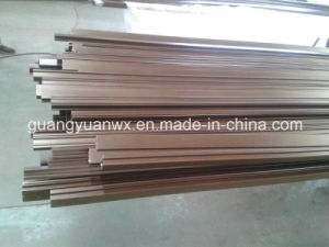 Aluminium Extruded Powder Coated Paint Profile Tube/Pipes pictures & photos