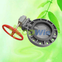 High Quality Agricultural PVC Butterfly Valve (Gear Type) pictures & photos