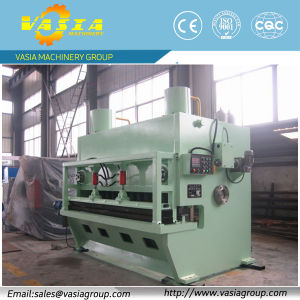 Metal Sheet Shearing Machine with Front Levelling pictures & photos