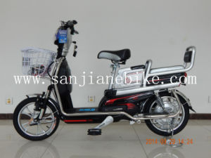 Hot Selling 48V Comfortable Brushless Electric Bicycle with En15194 Certification E-Bike (SJEBCTB-022)