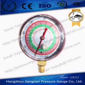 70mm 800psi Refrigeration Pressure Gauge for R-404A/R22/R-410A pictures & photos