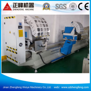 Double Miter Saw for Aluminum Window Profile