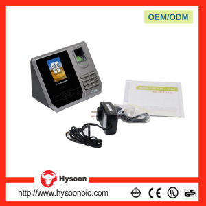 China TCP/IP Entry Biometric Attendance Machine with Long