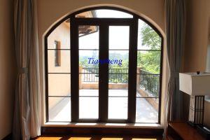 High Quality Aluminum Casement Door with Double Glazing