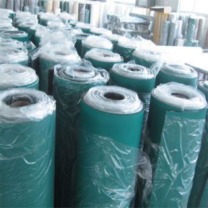 1*10 M Industrial ESD Green Rubber Flooring Mat pictures & photos
