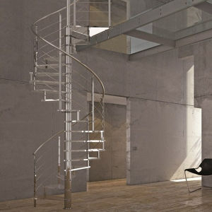 Modern Glass Spiral Staircase Staircase (PR-S05) pictures & photos