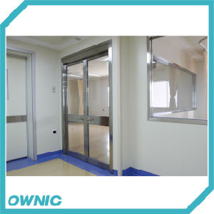 Ozp01 Automatic Glass Swing Door pictures & photos
