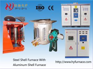 Steel Scrap Induction Furnace Melting Furnace (GW-1.25T) pictures & photos