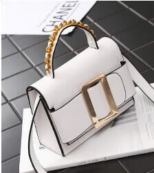 2017 New Summer Retro Wild Shoulder Bag Chain Handbag Female Bag Messenger Bag Lock Small Square Shoulder Bag pictures & photos