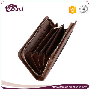 Fani PU Women Zipper Wallet, Ladies Zipper Wallet pictures & photos