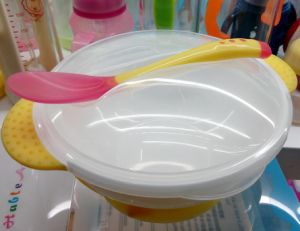 Hableangel Baby Bowl Series Baby Bowl with Spoon Hapj-623