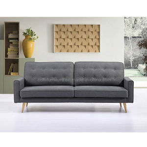 Modern Fabric Sofa with Wooden Leges pictures & photos