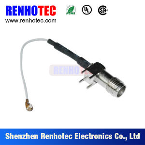 F Female Connecter to I-Pex/SMB Coaxial Cable Assembly pictures & photos