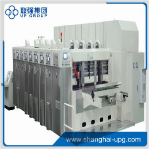Lq-Tgf920 Four-Color Printing Slotting Die-Cutting Machine pictures & photos