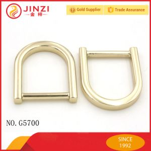 Buckles Type Eco-Friendly Zinc Alloy D Ring for Bags pictures & photos