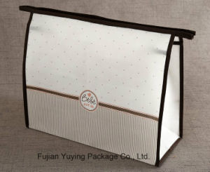 White Non Woven cosmetic Bag Makeup Bag