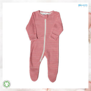 Long Sleeve Baby Apparel Stripe Printing Baby Playsuits pictures & photos