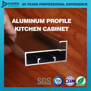 China Aluminum 6063 Extrusion Profile For Kitchen Cabinet Handle
