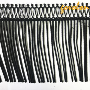 2017 Fashion Polyester Black Trims pictures & photos