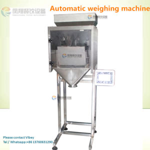 Commercial Electric Weighing Machine, Automatic Garlic Peanut Powder Scale (1-10kg/bag) pictures & photos