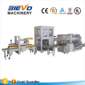 Full Automatic Carton Box Bottles Wrapping Machine pictures & photos