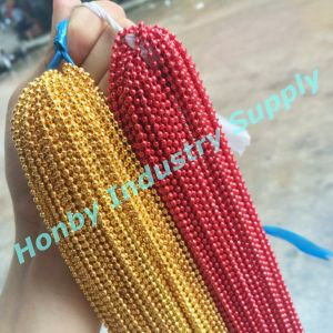2.4mm Metal Bead Colored Ball Chain Wholesale