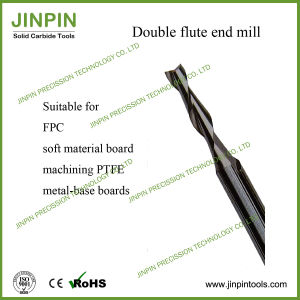 Solid Carbide Double-Flute End Mill for FPC