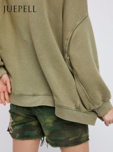 Stone Wash Pullover Oversize Hoody pictures & photos