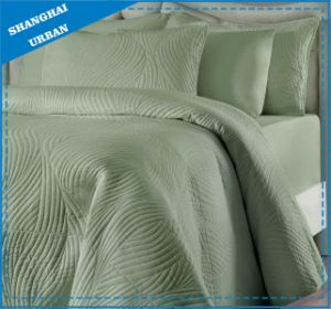 Solid Color Soft Cotton Bedspread Quilt pictures & photos
