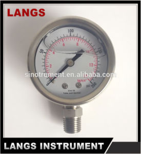 045 Magnehelic All Stainless Steel Pressure Gauge pictures & photos