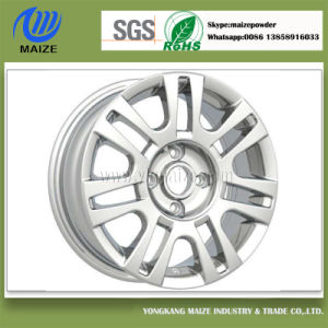Silver Powder Coating for Alloy Wheel
