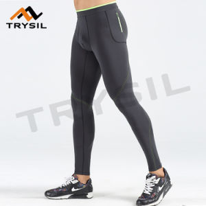 Men Gym Wear Pants Tight Quick Dry Sports Clothes Fitness Legging Apparel
