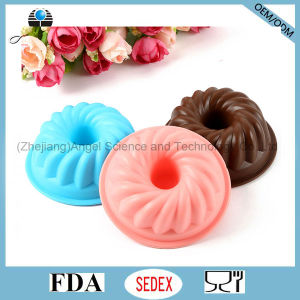 100% Food Grade Silicone Mould for Cake, Muffin, Pudding, Jelly and Soap Sc02