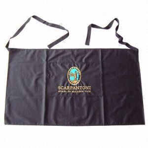 100% Polyester/Cotton OEM Custom Printing Promotional Kitchen Bib Apron pictures & photos