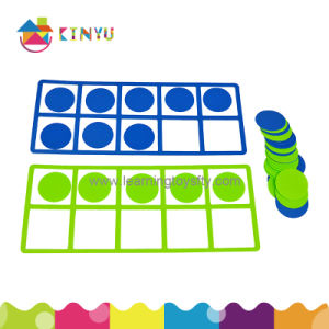 Educational and Learning Math Toys Plastic Ten Frame pictures & photos